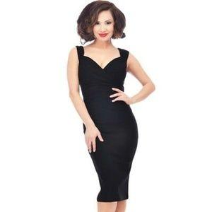 Modcloth Lady Love Song Sheath Dress Size Large
